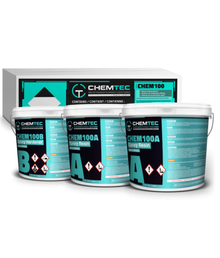 CHEM-100 PREMIUM 100% SOLID EPOXY